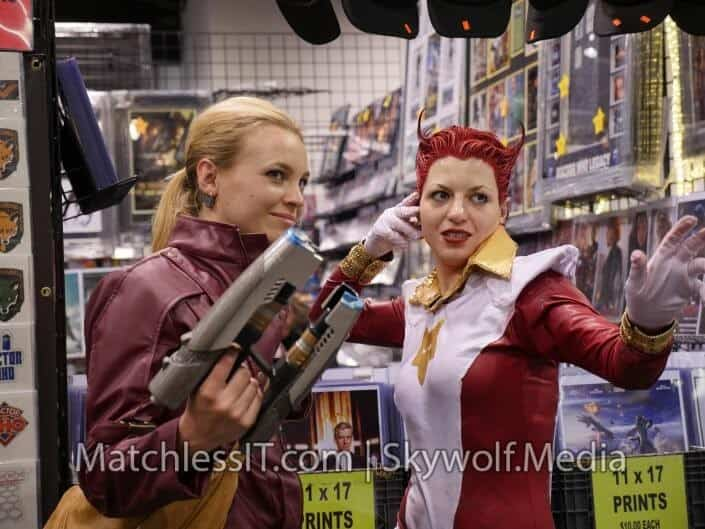 Cool cosplay. I have a thing for red hair apparently...