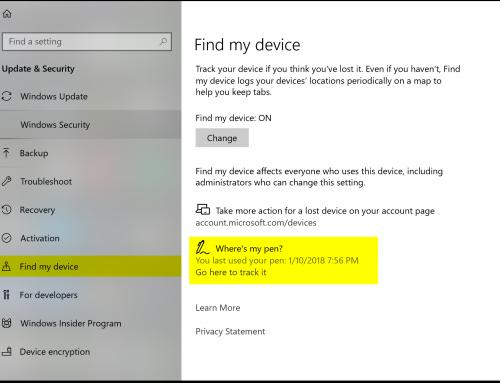 Lost Microsoft Surface Pen?