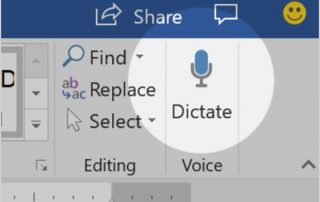 Dictate Button Image